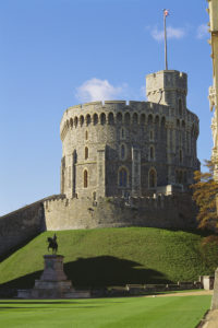 Round Tower, Windsor Castle Royal Collection Trust/©Her Majesty Queen Elizabeth II 2018